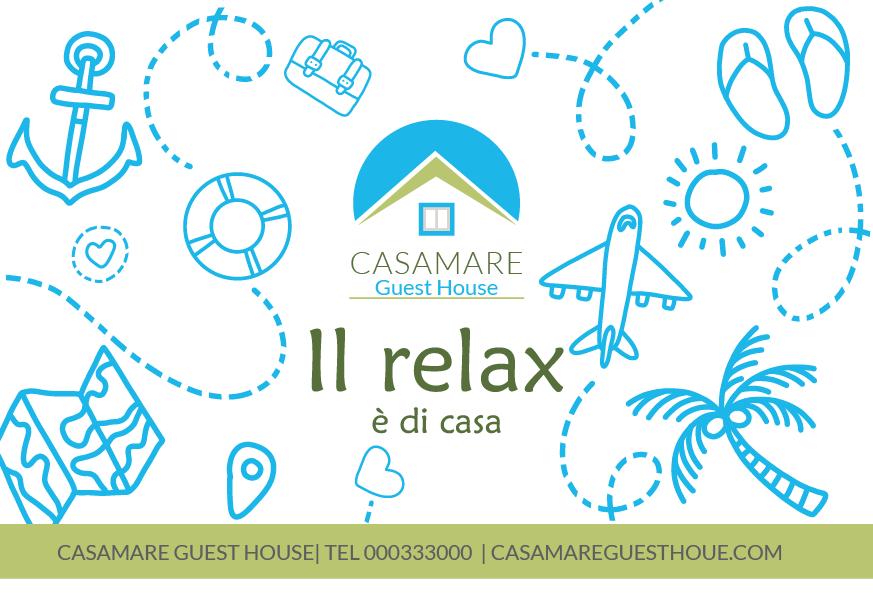 Cartolina per Casamare Guest House